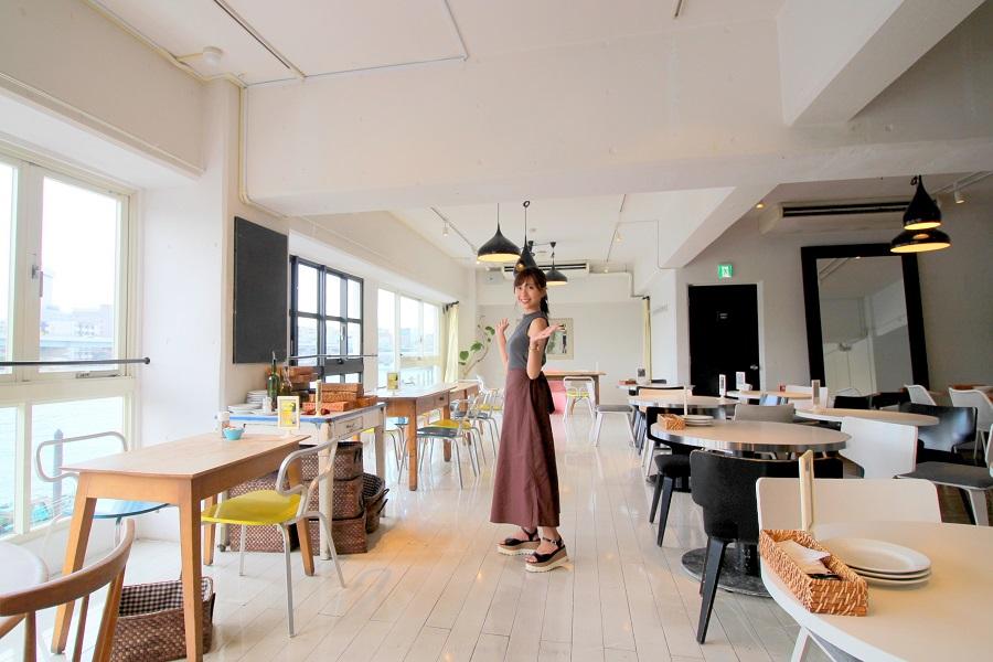 Riverside Cafe Cielo y Rio3F