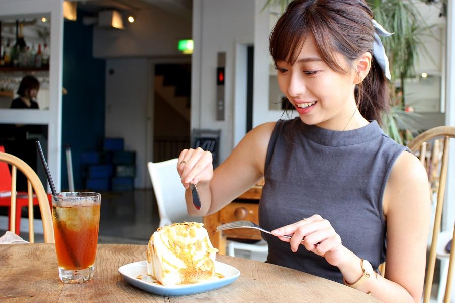Riverside Cafe Cielo y Rioエンゼルフードケーキ バニラキャラメル