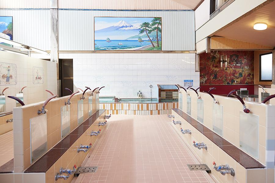 タカラ湯 女湯 浴室