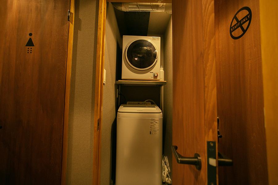 SEVEN GARDEN@浅草 洗濯機と乾燥機