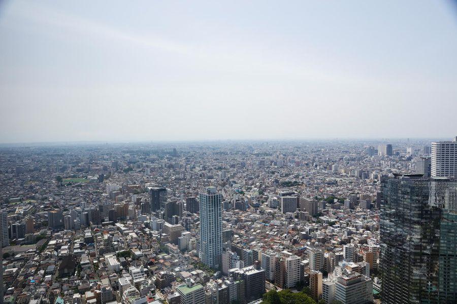 都庁展望室からの絶景