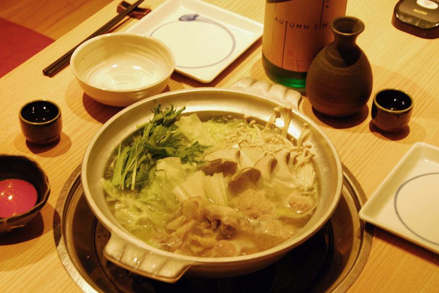 「水炊き」(2,100円/1人前)