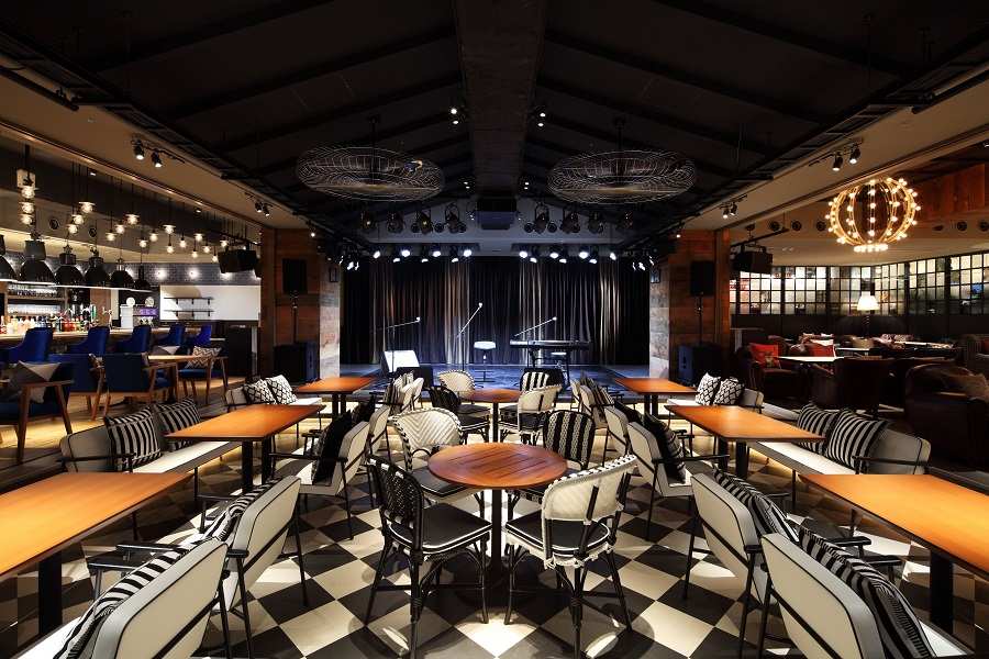 eplus LIVING ROOM CAFE&DINING ライブエリア