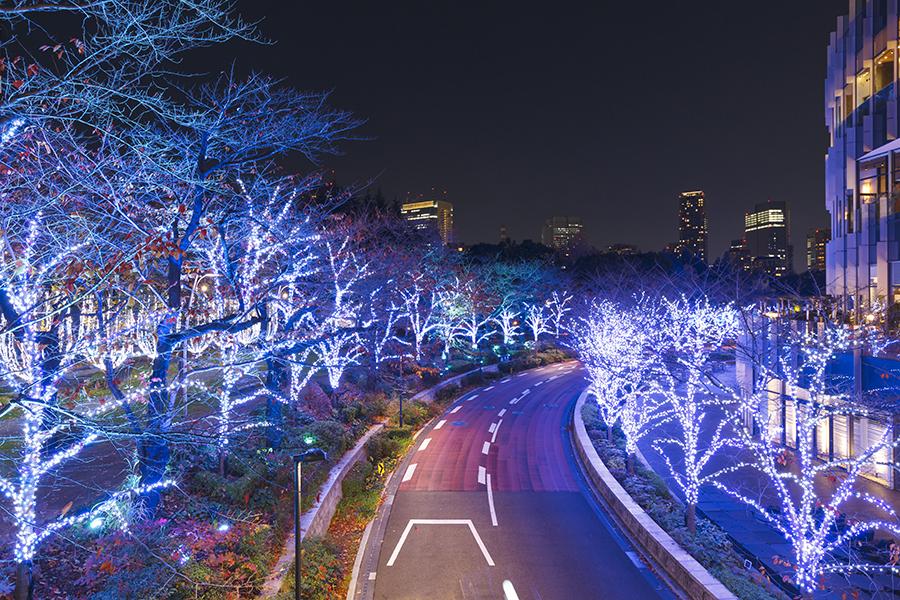東京ミッドタウンイルミネーション