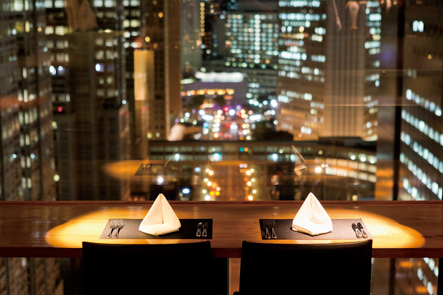 GRILL&DINING MANHATTAN TABLEカップルシート