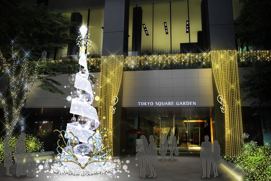 東京スクエアガーデンイルミネーション