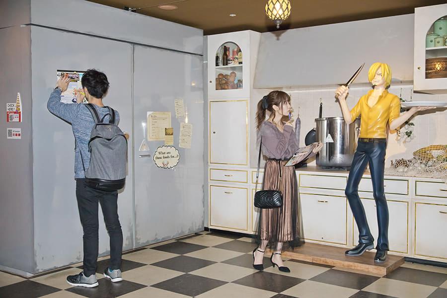 東京ワンピースタワー「MISSING SCORE」サンジのキッチン