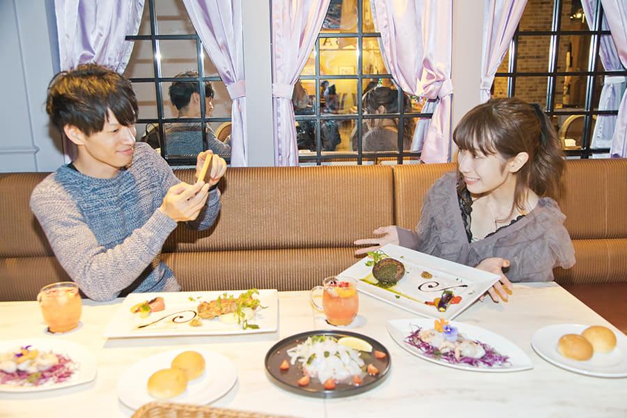 東京ワンピースタワー「サンジのおれ様レストラン」