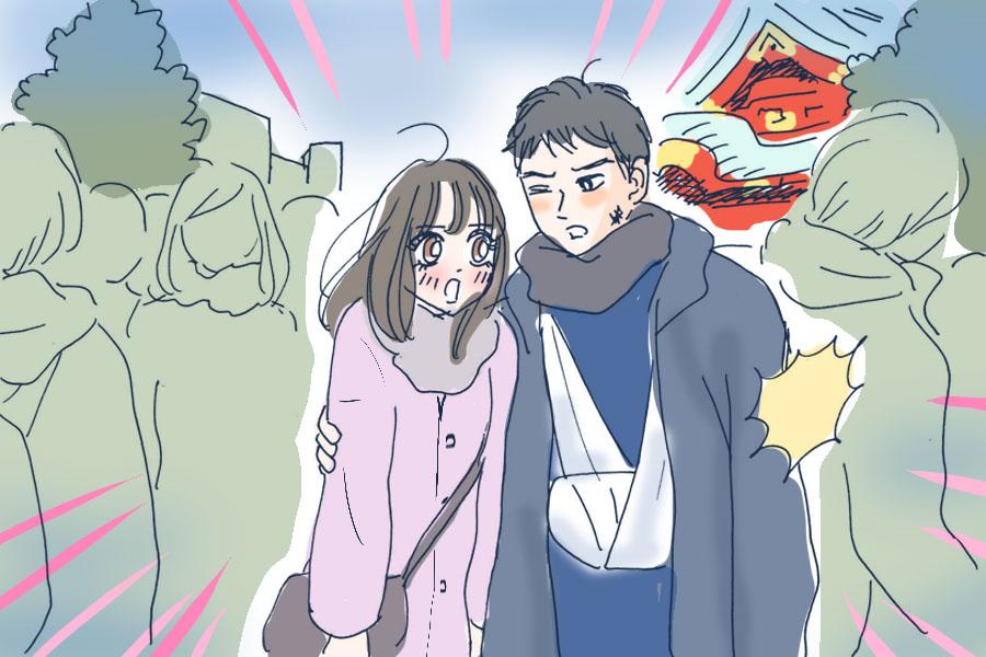 怪我系男子_神田明神
