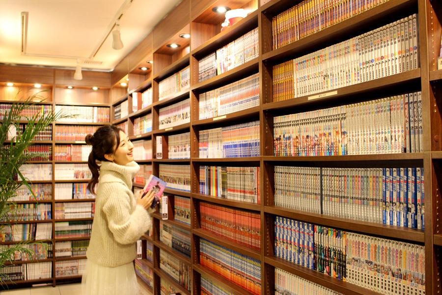 俺の部屋 横浜店本棚