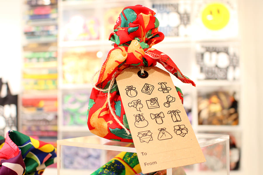 LUSH 原宿店「Knot Wrap(ノットラップ)」