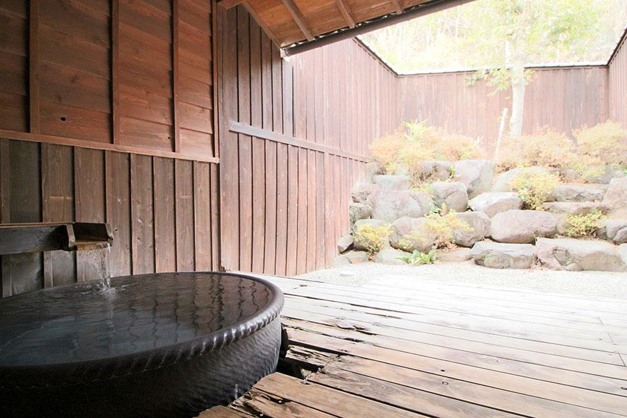 おがわ温泉 花和楽の湯 貸し切り風呂