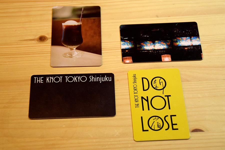 THE KNOT TOKYO Shinjuku カードキー