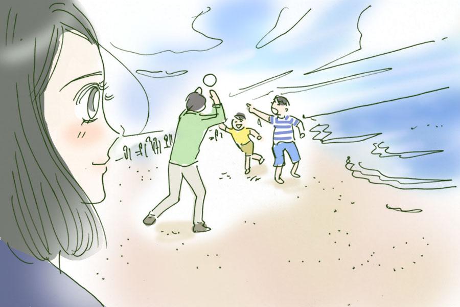 緑茶系男子_由比ガ浜海浜浴場
