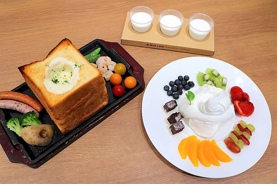 MILKLAND HOKKAIDO → TOKYO