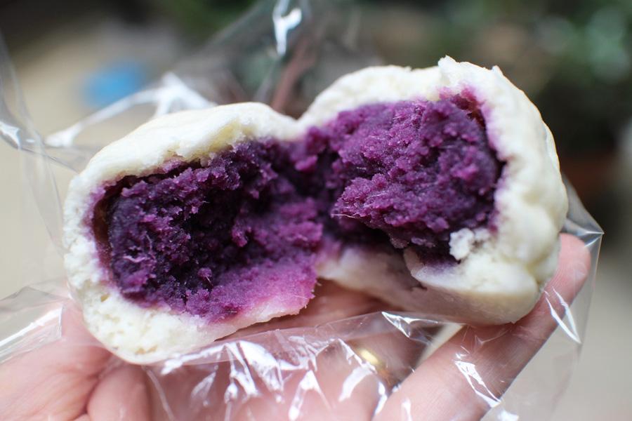 稲葉屋本舗紫いもまんじゅう