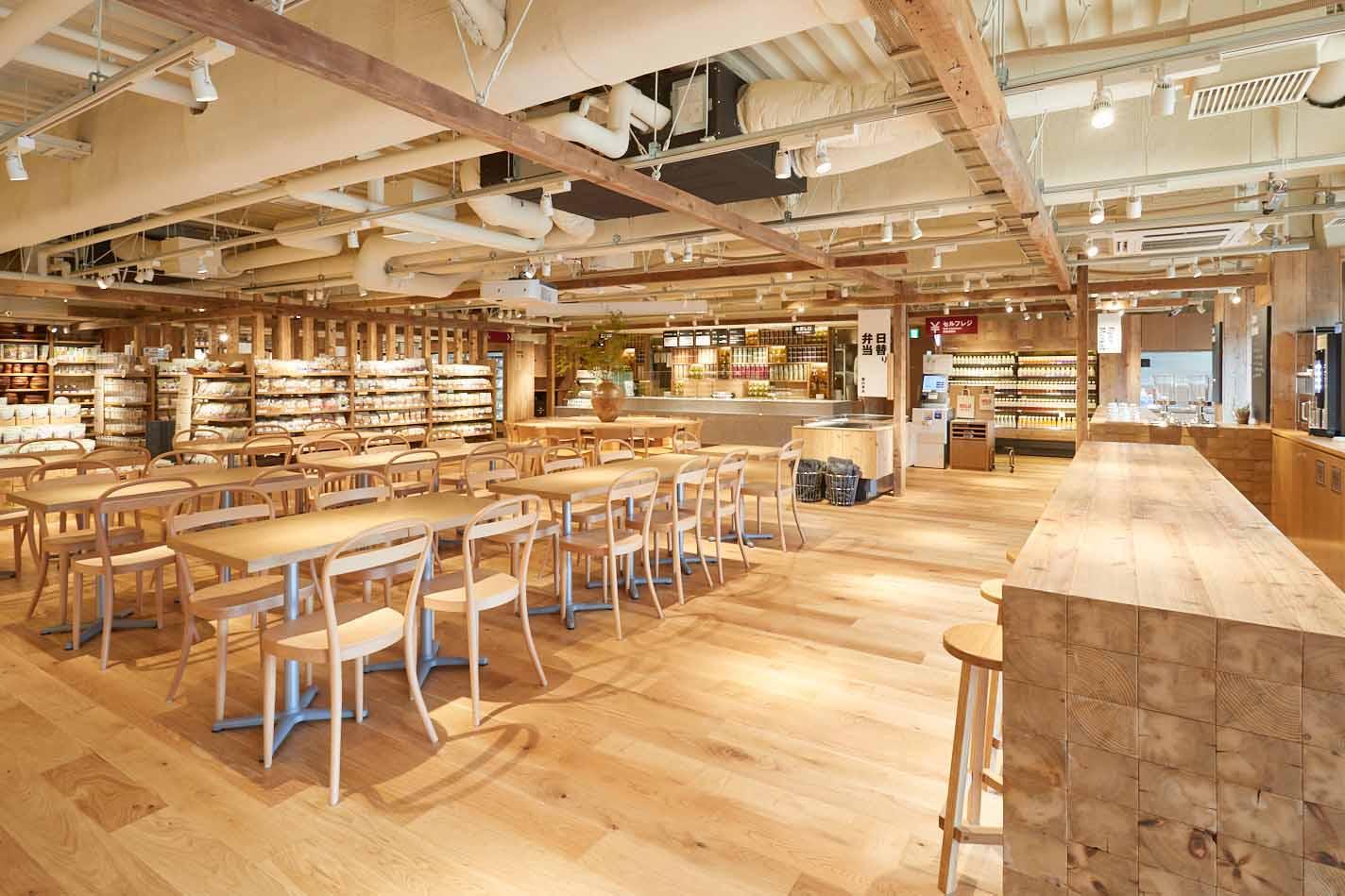 MUJI com 武蔵野美術大学市ヶ谷キャンパス カフェスペース