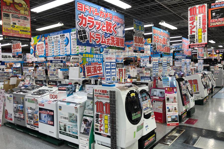ヨドバシマルチメディアAkiba 店内