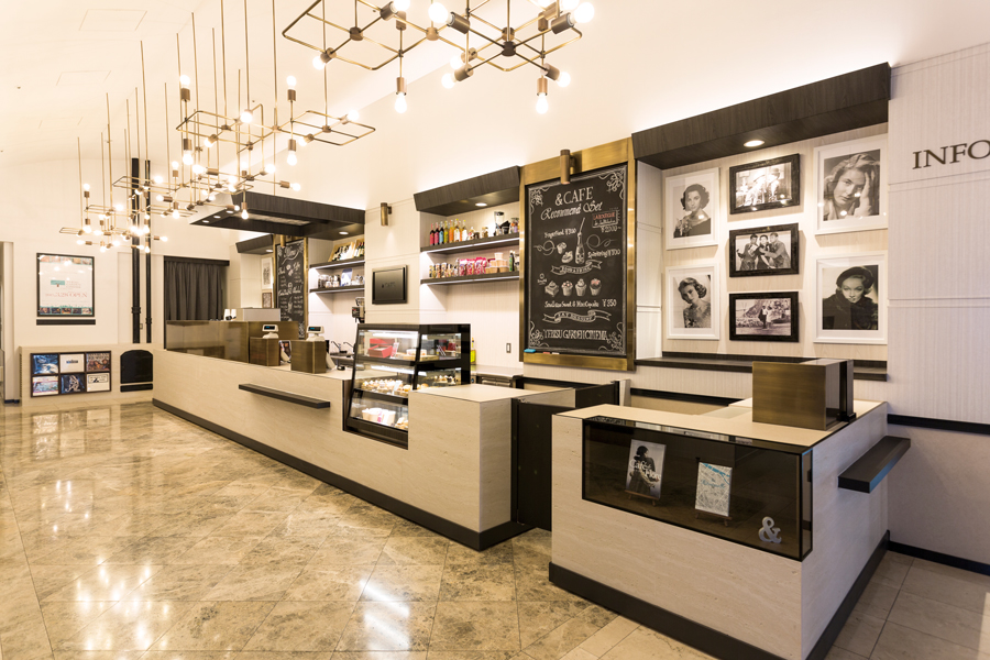 YEBISU GARDEN CINEMA カフェ