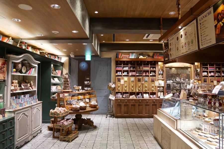 Cacao Market by MARIEBELLE銀座店1