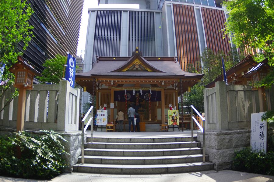 福徳神社 社殿
