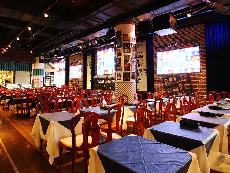 東京ドームシティ MLB cafe TOKYO