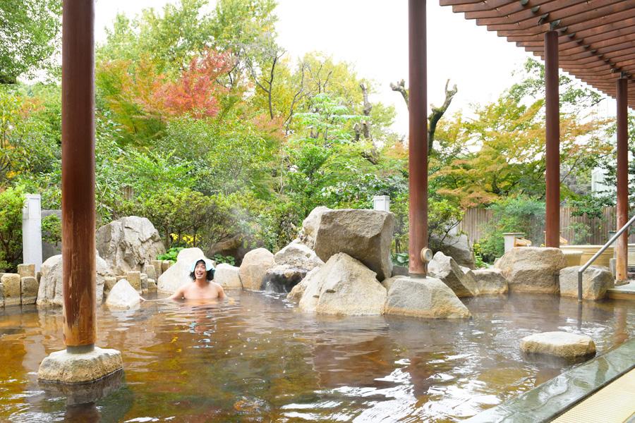 「バーデと天然温泉 豊島園 庭の湯」