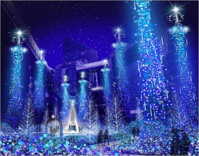 Caretta Illumination 2016 『カノン・ダジュール Canyon d'Azur ~青い精霊の森~』