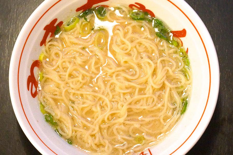 長浜ラーメン麺