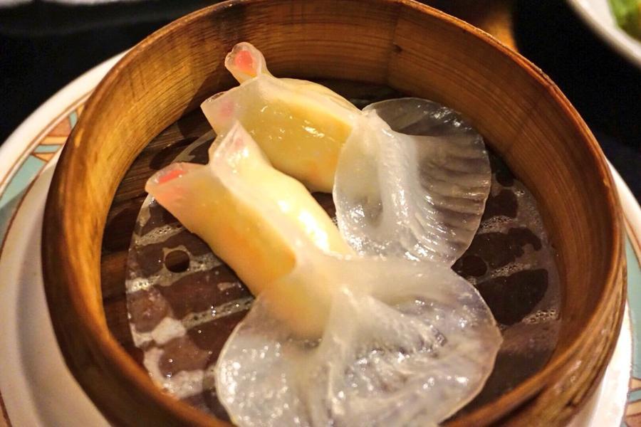 癒し金魚 蒸し餃子