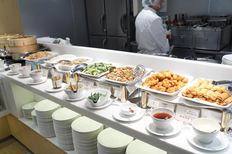 中国料理コーナー