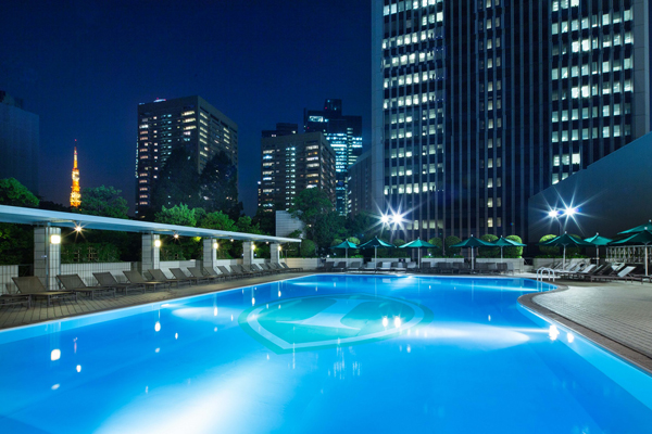 ANAインターコンチネンタルホテル東京「ガーデンプール」