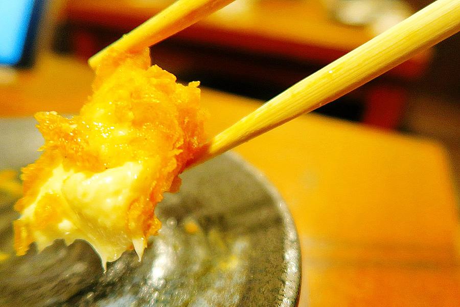 チーズの天ぷら