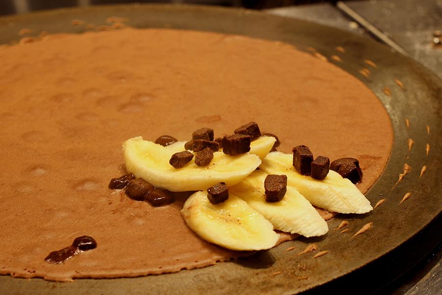 チョコ&バナナ