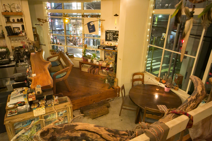 cafe stay happy店内