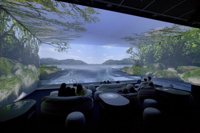 東京都水の科学館水アクア・トリップ 水のたびシアター