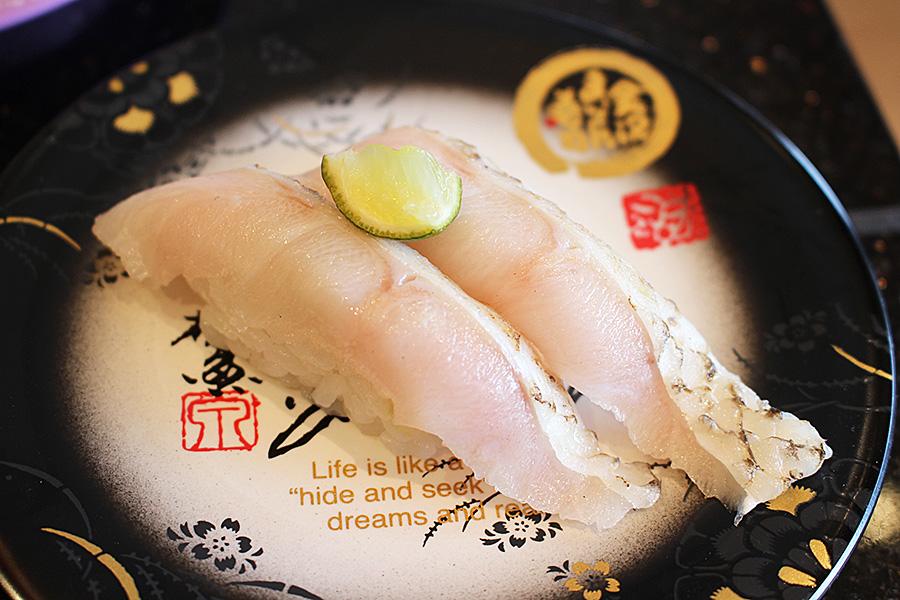 金沢まいもん寿司 のど黒
