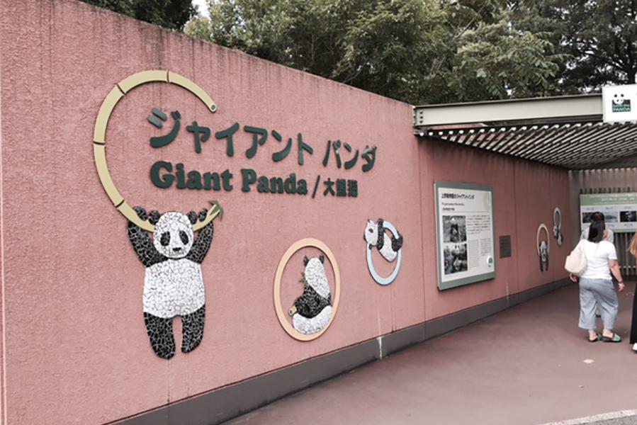 上野動物園 パンダ舎