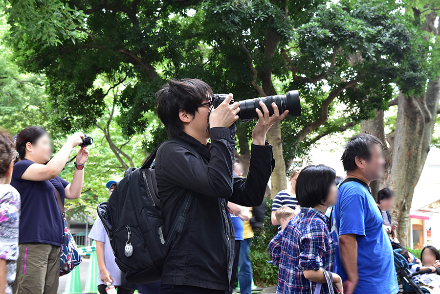 上野動物園 高氏さん
