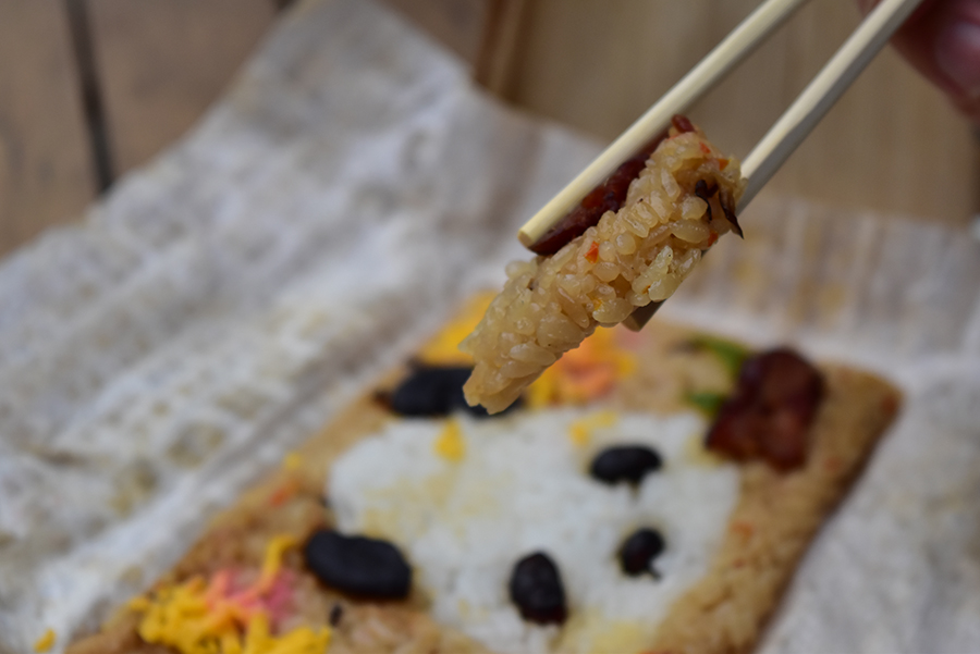 上野動物園 竹皮パンダ弁当