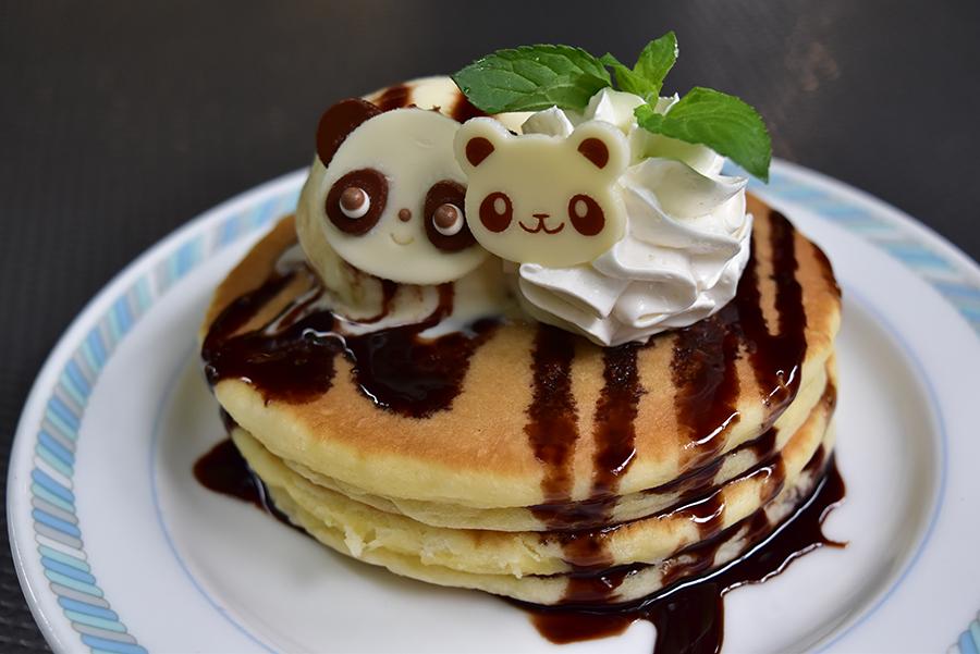 上野動物園 パンダちゃんホットケーキ