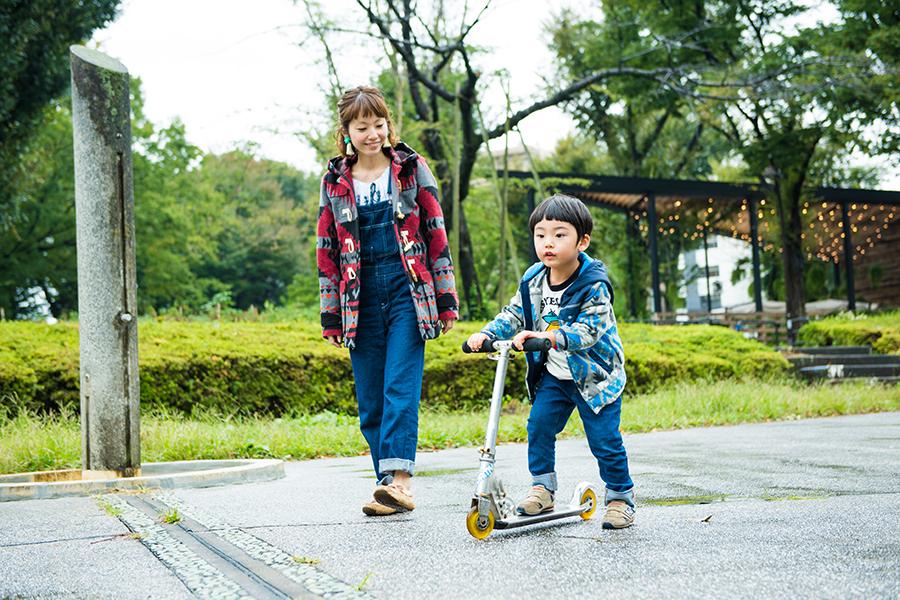 駒沢公園 むらたさきさんとよう君