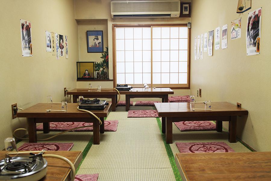 ふじ芳 2F 個室