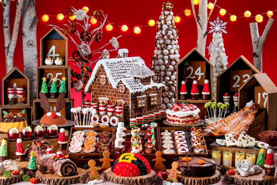 ヒルトン東京お台場_ミニチュア・クリスマスマーケットの世界