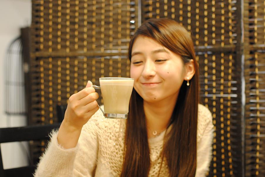 BWCAFE 蕎麦茶ラテ