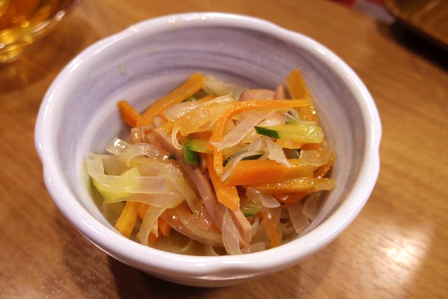 浩司 野菜の和え物