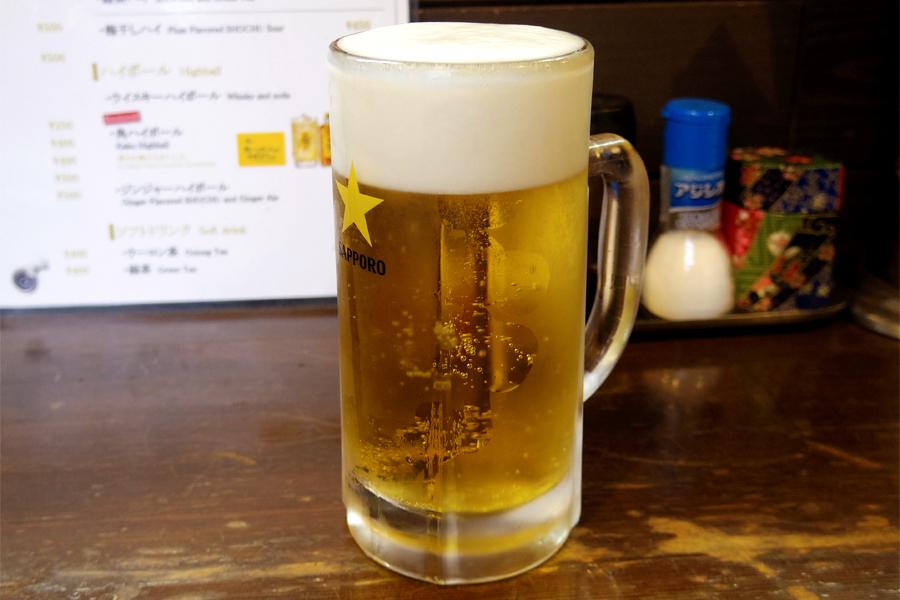 正ちゃん 生ビール