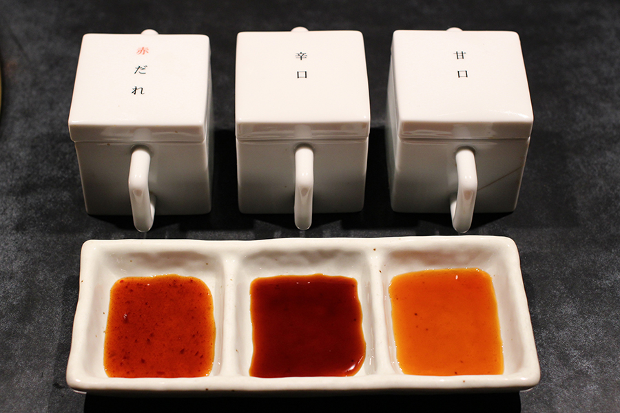 百えん屋 タレ3種類