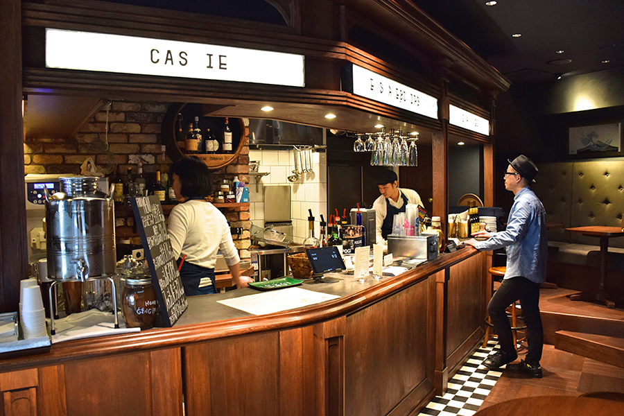 THE SHAKE&CHIPS TOKYO 店内