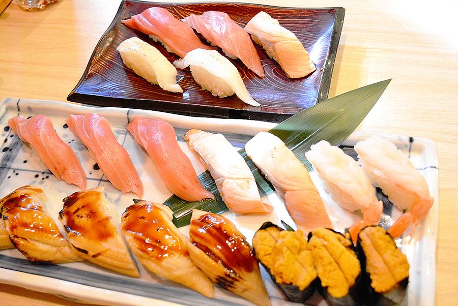 きづなすし 新宿歌舞伎町店  寿司盛り